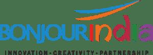 bonjour india innovation creativity partnership logo