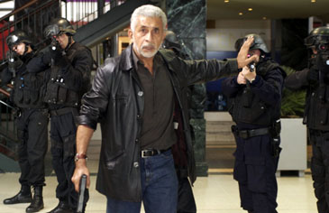 "Indian veteran actors Naseerudin Shah in Hindi Film ""SHOOT ON SIGHT"""