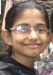 Anandita Sharma age 10 years