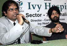 Renowned Cardiologist Dr Vikramaditya Joins Ivy Hospital and Ivy Brings India's Most Sophisticated Cath Lab