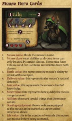 Mice & Mystics component list 1