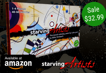 Order Starving Artists on Amazon for $32.99, shipped with Prime!