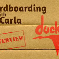 Cardboarding with Carla: Ducklings Interview