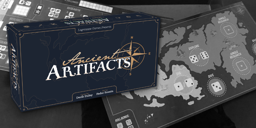 Ancient Artifacts: Rolling for Loot and Adventure! a (p)review