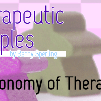 Therapeutic Meeples: Economy of Therapy