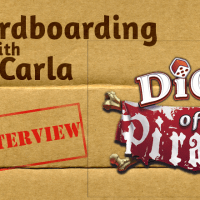 Cardboarding With Carla: Dice of Pirates