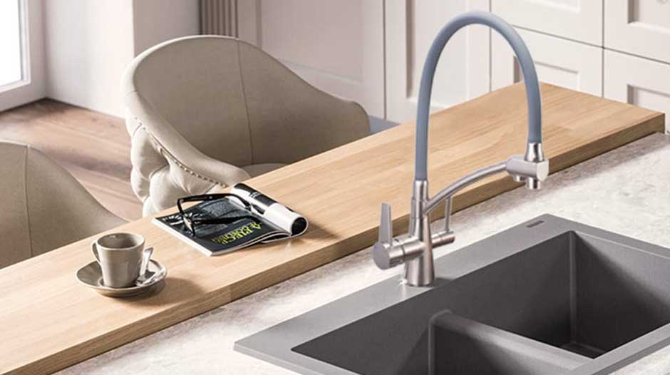 best kitchen faucet for low water