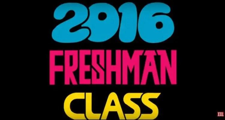 The XXL 2016 FRESHMAN