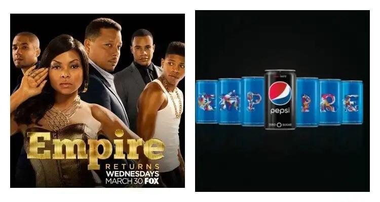 "Pepsi And FOX Collaborate Again For The Spring Return Of ""EMPIRE"" Season Three"