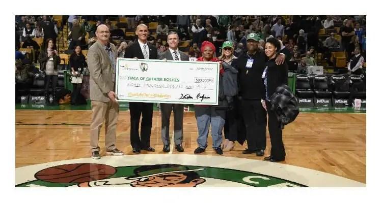Boston Celtics Help Raise $80,000 for the Greater Boston YMCA's Diabetes Prevention Program