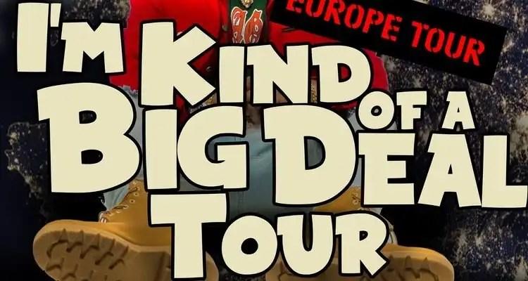 Joyner Lucas Announces 'I'm Kind Of A Big Deal European Tour'