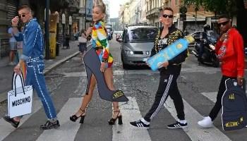 Cîroc X Moschino Launch Their Collaboration at Milan Fashion Week