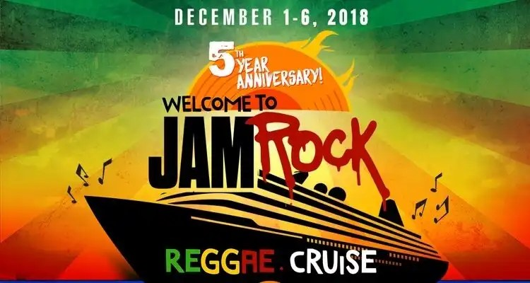 Damian Marley's Jamrock Cruise (WTJRC) Will Celebrate 5th Year Anniversary
