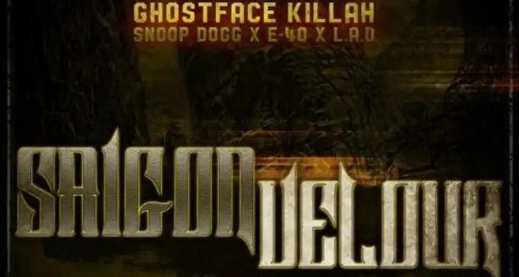 Ghostface Killah f/ Snoop Dogg, E-40 & LA The Darkman 'Saigon Velour' (Remix)