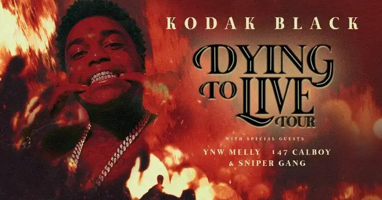 Kodak Black is 'Dying To Live' on Tour
