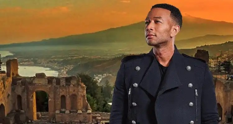 John Legend to Perform in Sicily at Taormina4Ever July 25th