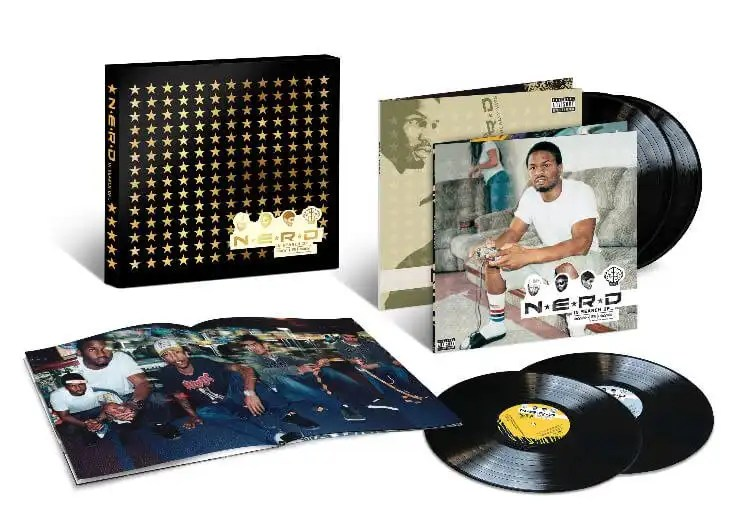 N*E*R*D's 'In Search Of…' Revisited For Urban Legends' New Deluxe 4LP Vinyl Edition
