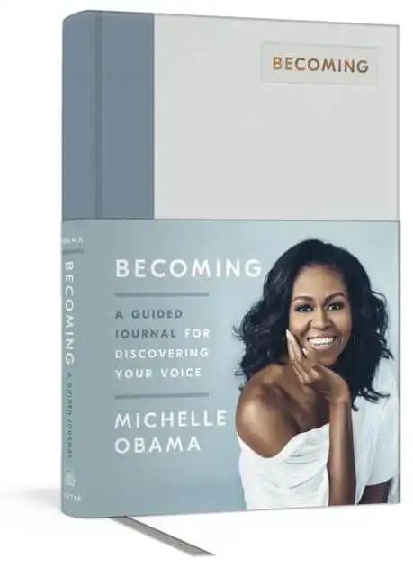 Michelle Obama to Release 'Becoming: A Guided Journal for Discovering Your Voice'