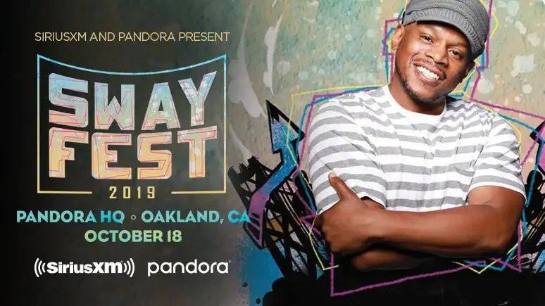 SiriusXM and Pandora to Launch Inaugural 'Sway Fest 2019' on October 18