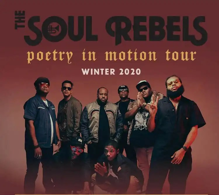 The Soul Rebels Announce 'Poetry in Motion' Winter Tour