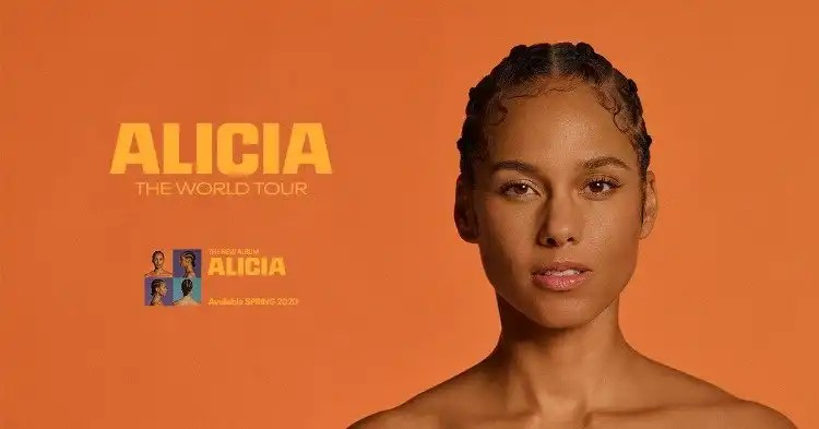 Alicia Keys Announces ALICIA – THE WORLD TOUR