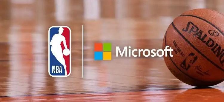 NBA Partners with Microsoft