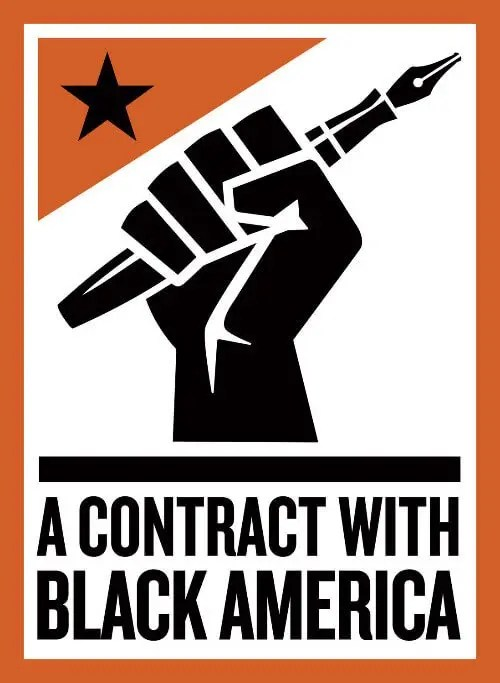 Ice Cube Collaborates With Shepard Fairey To Create Logo For 'A Contract with Black America'