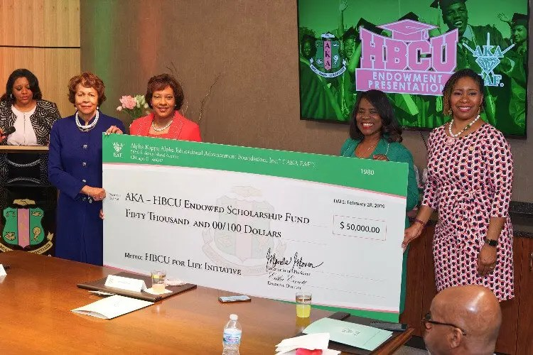 Alpha Kappa Alpha Sorority Raises $1 Million in Support of HBCUs