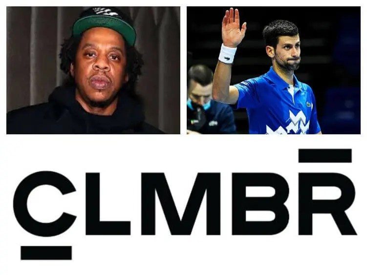 Jay-Z and Novak Djokovic Invest in CLMBR