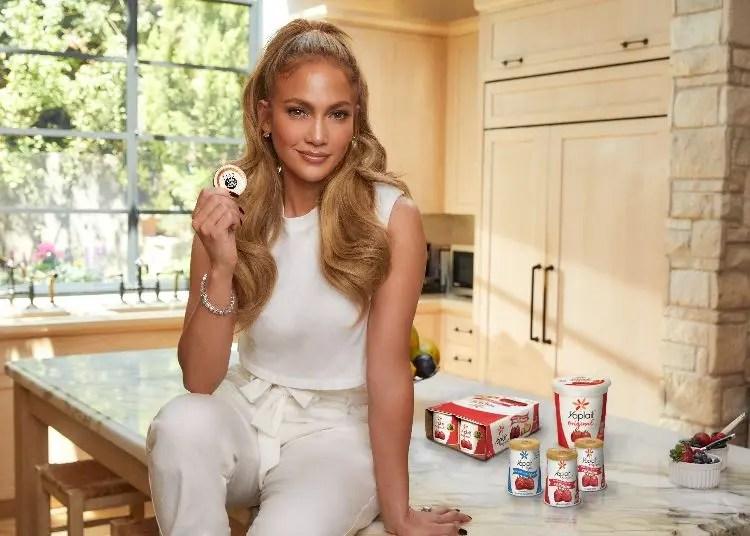 Jennifer Lopez & Yoplait Launch 'Lids to Feed America' Program