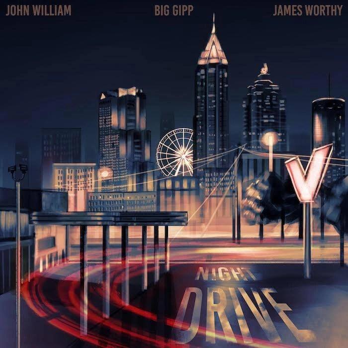 John William, Flautist - Night Drive feat. James Worthy & Big Gipp