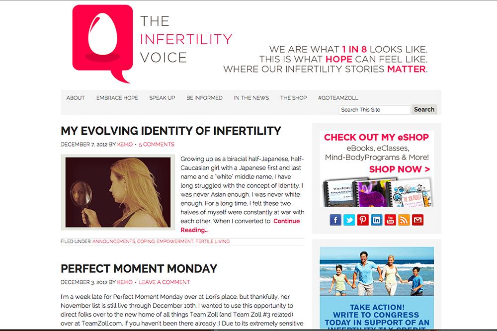 The Infertlity Voice 2012-12