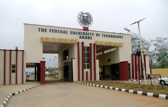 Departments In Federal University of Technology, Akure