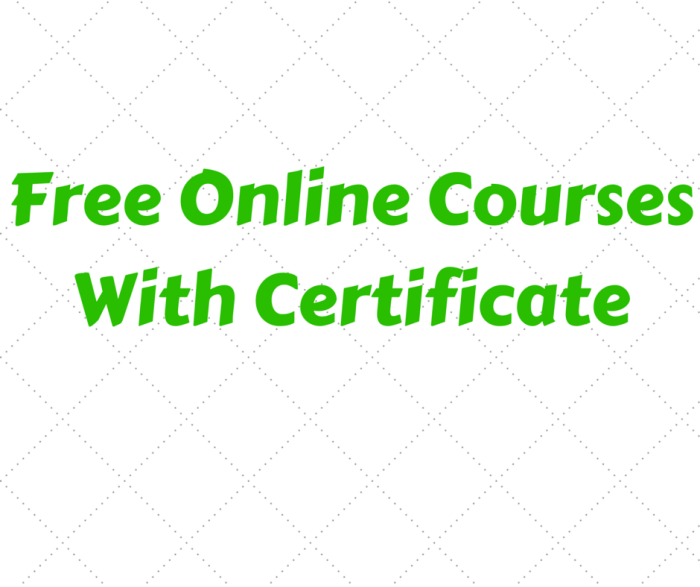 25 free online courses with certificates of completion theinfofinder