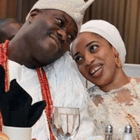 Olori Wuraola reacts to report that she has parted ways with Ooni of Ife (details)