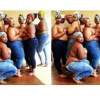 Viral photo of Plus-size ladies topless photoshoot