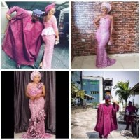 13 celebrities who stole the show at Adesua and Banky W's traditional wedding (PHOTOS)