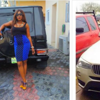 Top 10 Nigerian female celebrities who are driving the most expensive cars (With Photos)