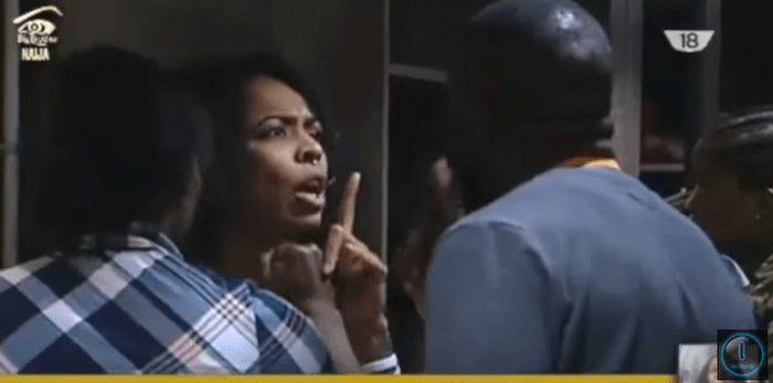 Full Video: Bally and TBoss insult themselves, almost fight in #BBNaija house last night