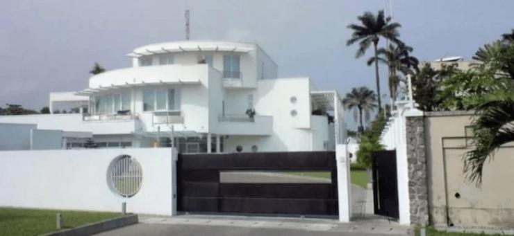 Billionaire Femi Otedola house
