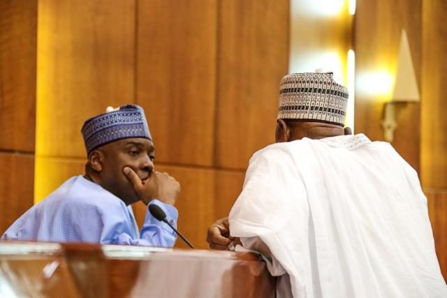 Image result for We are already collecting signatures for Saraki's impeachment – Reps Member