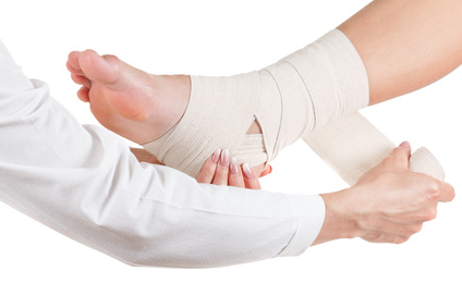 ankle injury compensation claims
