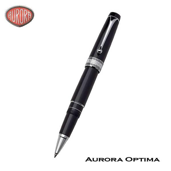 Aurora Optima Black Roller Ball