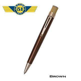 Retro51 Brown Roller Ball