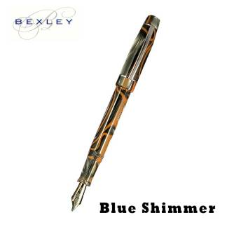 Bexley Blue Shimmer Fountain Pen