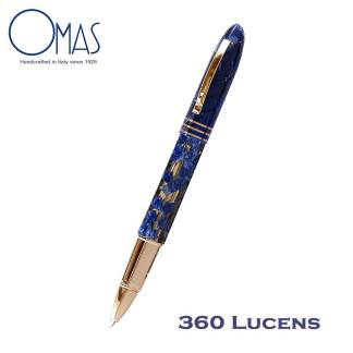 Omas Limited Edition 360 Lucens Gold Roller Ball