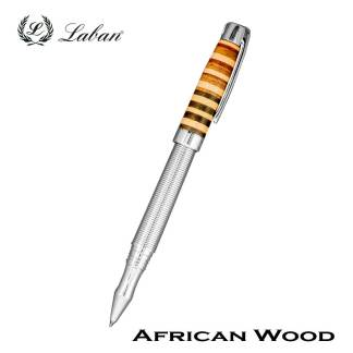 Laban African Wood Roller Ball