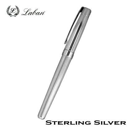 Laban Sterling Silver Fountain Pen