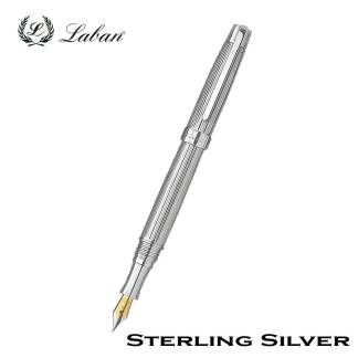 Laban Sterling Silver Fountain Pen