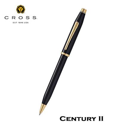 Cross Century II Black Lacquer Ball Pen